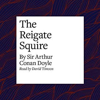 The Reigate Squire audiobook cover art