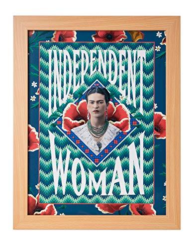 Grupo Erik Cuadro Decorativo Frida Kahlo Independent