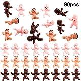 90 Stücke Mini Kunststoff Babys Baby Dusche Spiele Party Eiswürfel Party Dekoration, 1 Zoll...