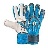 HO Soccer Clone Phenomenon Negative Blue Guantes De Portero, Unisex Adulto, Azul/Gris/Blanco, 7