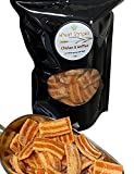HEALTHY ALTERNATIVE: With only 15 grams of carbs per serving, these healthy, crunchy Chicken and Waffles-flavored wheat chips fit every lifestyle. Whether you're looking for a healthy snack for adults, or a better-for-you snack for kids, Diva Stuff h...