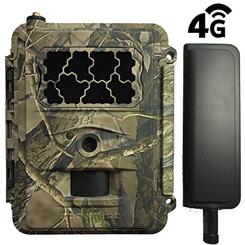 Preisvergleich Produktbild Spromise S378 Fotokamera mit Nachtsicht,  unsichtbare LEDs,  12 Megapixel,  Full HD 1080P,  Infrarot-Reichweite 18 m,  Versand von Fotos und Verbindung 4G Steuerung per SMS und App