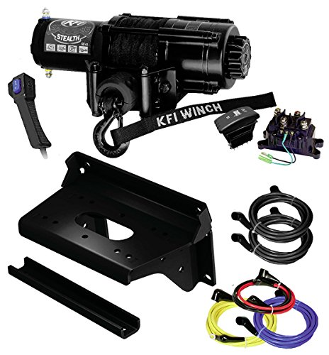 Learn More About KFI Combo Kit - SE45-R2 4500lbs Stealth Winch, Mount Bracket, Wiring, Switches, Rem...