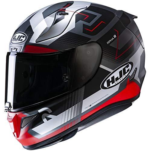 HJC Helmets RPHA 11 Pro Helmet - Nectus (Large) (Black/RED)