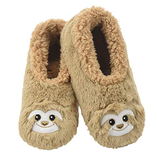 Furry Sloth Slippers