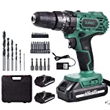 Best Cordless Drills - SUNCOO cordless drill set, 21+3 torque clutch 21V Review