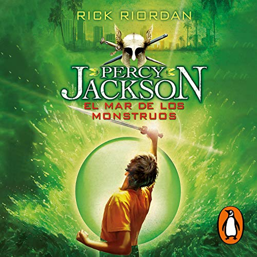 El mar de los monstruos [Percy Jackson and the Olympians II: The Sea of Monsters] cover art