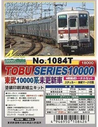 Tobu Railway Series 10000 No-Renewal (Original Form) Car 6-Car Formation Total Set (w Motor) (6-Car Pre-ColGoldt Kit)