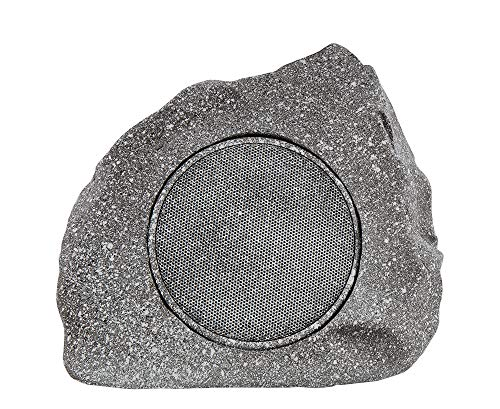 Homewell Outdoor Rock Speaker Premium Solar-Powered Wireless Bluetooth 5.0 Speaker for Patio, Pool, Deck, Yard, Garden