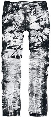 RED by EMP Jared Männer Jeans schwarz/grau W32L34 97% Baumwolle, 3% Elasthan Basics, Streetwear