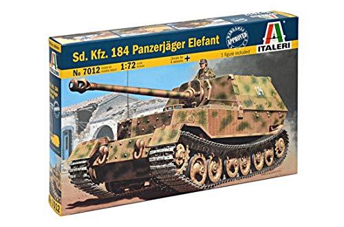 Italeri 8001283070126 510007012 - SD KFZ 184 Panzerjäger Elefant