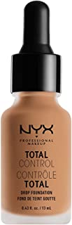 NYX PROFESSIONAL MAKEUP Total Control Drop Foundation, Soft Beige, 0.43 Fluid Ounce