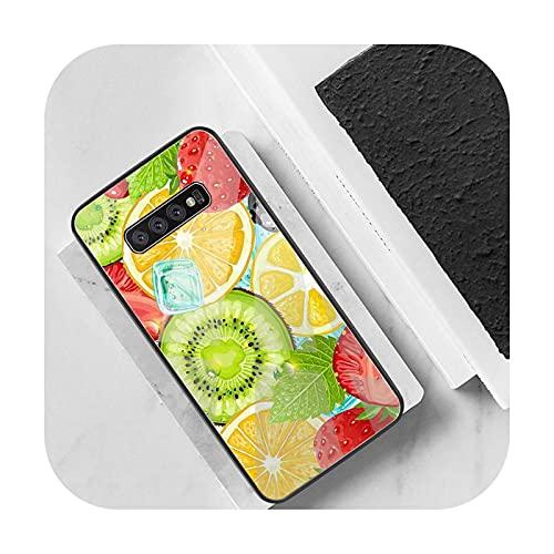 Caja de cristal templado para Samsung S20 Plus S7 S8 S9 S10 Plus Note 8 9 10 Plus A3 Galaxy S9