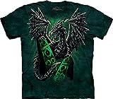 The Mountain Electric Dragon T-Shirt, 3X-Large, Green