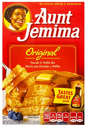 Aunt Jemima Original Pancake and Waffle Mix 453g (Aunt Jemima Original Pfannkuchen-Waffel-Mix 453g)
