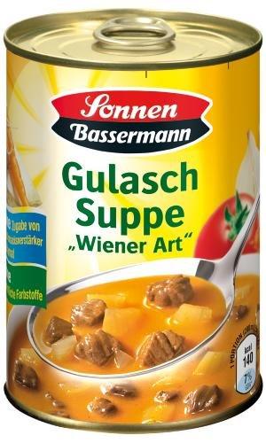 Sonnen Bassermann Gulasch-Suppe, 6er Pack (6 x 400 ml Dose)