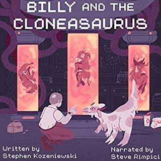Billy and the Cloneasaurus cover art