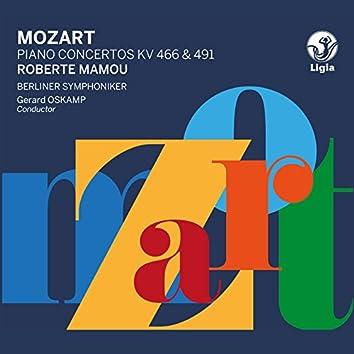 Mozart: Piano Concertos K. 466 & 491