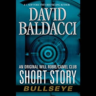 Bullseye audiobook cover art