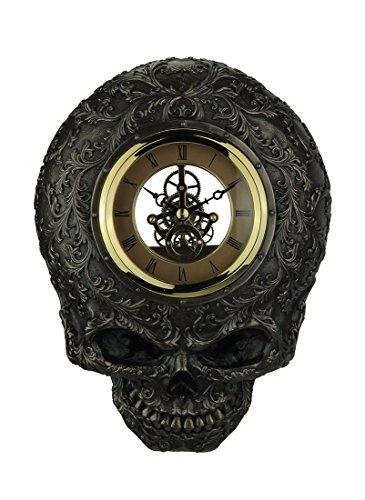 Steampunk Skull Decorative Wall Clock