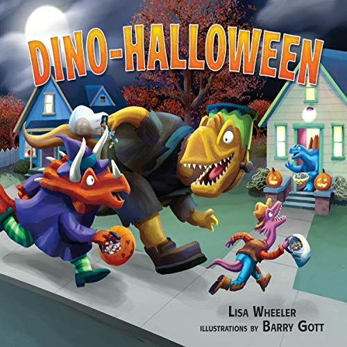 Dino-Halloween cover art
