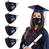 2021 GRADUATION COLLECTION 3D SHAPE FACE MASK: The breathable and reusable face mask made of high-quality cotton and polyester, environmental material for graduation face mask, soft and washable. The ergonomic technology design ensures the comfort of...