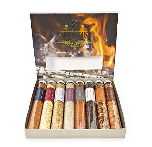 Barbecue Smokehouse Flame and Flavour BBQ Rub Set - 8...