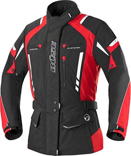 Büse Torino Pro Damen Motorrad Textiljacke 40 Schwarz/Rot
