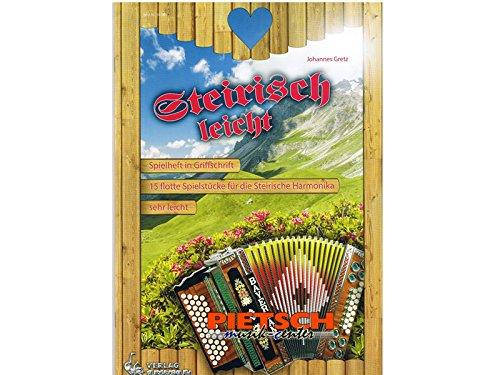Steirisch leicht, für Steirische Harmonika