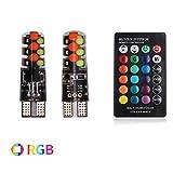 Le T10RGB du véhicule lampe montre d'une large gamme d'ampoules dans différents...