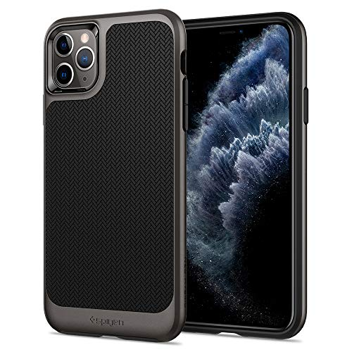 Spigen Cover Neo Hybrid Compatibile con iPhone 11 PRO Max - Gunmetal