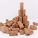 G-Cork Corchos de Vino - Tapones - Botella - Manualidades - Decoración - Bricolage - 24mmx45mm (Oscuro, 100)
