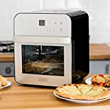 FiNeWaY 12 Litre Premium AIR Fryer Oven Cooker Rotisserie Grill Oil Free Fried Food Kitchen Accessories 1600W