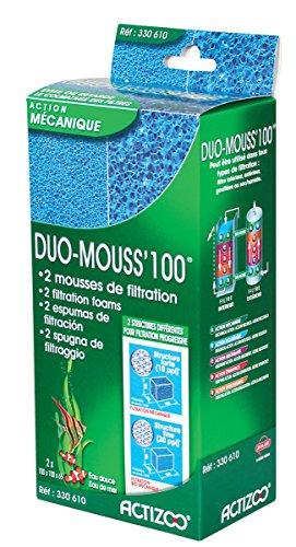 Zolux Duo Mousse Filtre pour Aquarium 100 cm