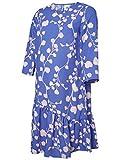 MAMALICIOUS Mama Licious Female Umstandskleid Blumenprint MAmparo Blue