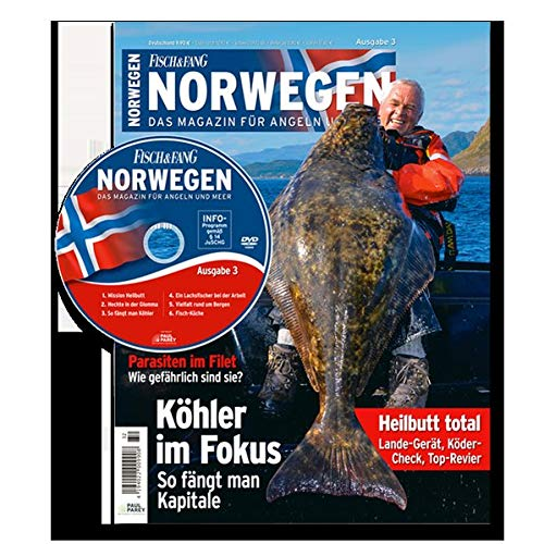 FISCH & FANG Sonderheft Nr. 32: Norwegen Magazin Nr. 3 + DVD (Norwegen Magazin: Das Magazin für Angeln und Meer)