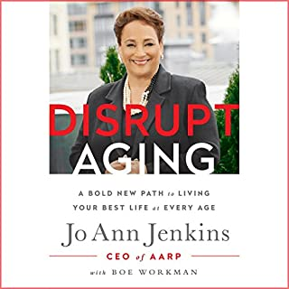 Disrupt Aging audiobook cover art