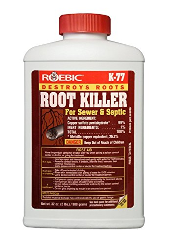 Roebic K-77-2LB Laboratories K-77 Root Killer