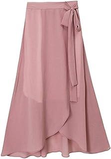 4b67c3ca8 Amazon.es: faldas largas ROJAS DE GASA - Faldas / Mujer: Ropa