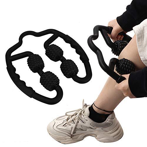 Unibell Triggerpunkt Massagerolle, Muskel Massageroller, 360 ° Massage Roller Muskel Roller Multifunktionaler Schaummassagerolle Massage Tool für Bein Hals Arm und Ellbogenmuskelentlastung