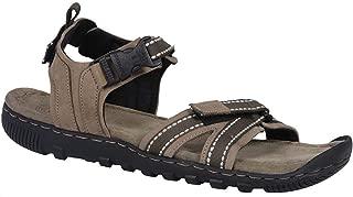 Woodland Men's Gd 2665117_Khaki_11 Leather Outdoor Sandals-11 UK (45 EU) (12 US)