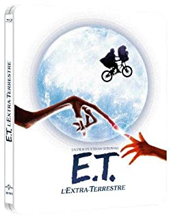 E.T., l'Extra-Terrestre [Combo Blu-ray + DVD - Édition Limitée boîtier SteelBook] (B0087OYKM0) | Amazon price tracker / tracking, Amazon price history charts, Amazon price watches, Amazon price drop alerts