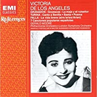 Victoria De Los Angeles Sings Granados, Turina & Turina by Victoria De Los Angeles (1992-02-18)