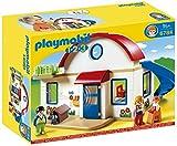 PLAYMOBIL 1.2.3-1.2.3 casa Moderna, 39.9 x 30.0 x 15.0 (6784)