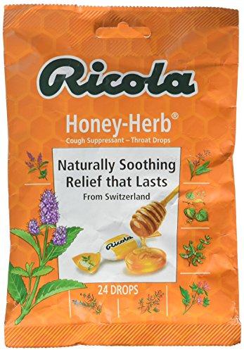 Ricola Natural Honey Herb 24 Drops