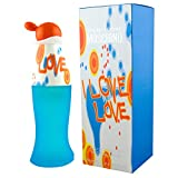 Perfume para Mujere Mujeres Moschino Cheap and Chic I Love Love 100 ML EDT 3,4 OZ Femme Eau DE Toilette Spray 100% Original