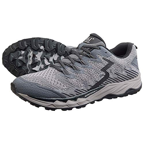 361° Herren Laufschuhe Sportschuhe Yushan WP, Schuhgröße:US 10 / EU 44, Farbe:Castlerock/Black
