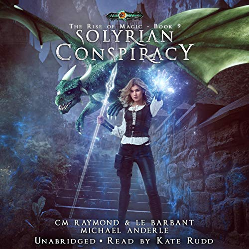 Solyrian Conspiracy audiobook cover art
