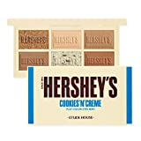 ETUDE HOUSE HERSHEY's Chocolate Brush Kit #Cookie & Cream - Play Color Eyes Mini Eyeshadow Palette & Brush - Special Limited edition