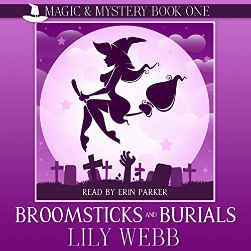 Broomsticks and Burials (Paranormal Cozy Mystery) Titelbild